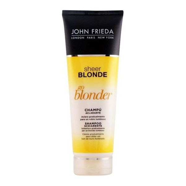 Champú Aclarante Rubios Sheer Blonde John Frieda