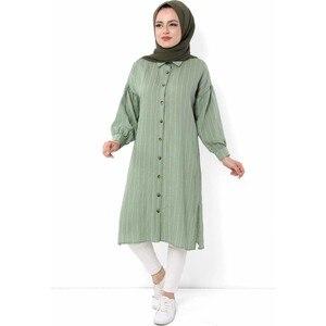 Hijab World Button Hijab Tunik TSD1112 Green