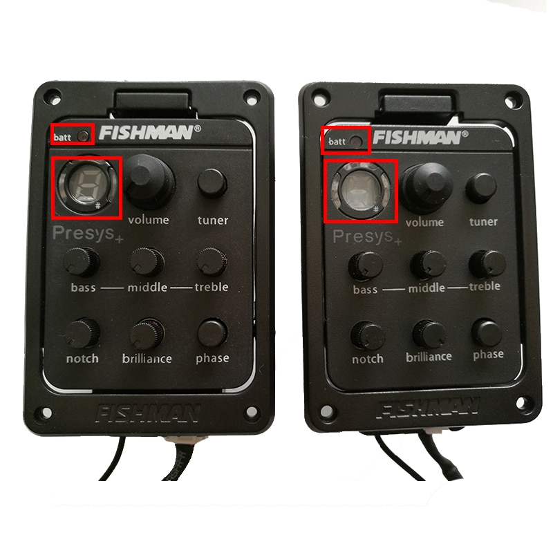 Guitar Pickups Fishman PRESYS+ Onboard Preamp/EQ With Tuner LED For Acoustic Guitar enlarge