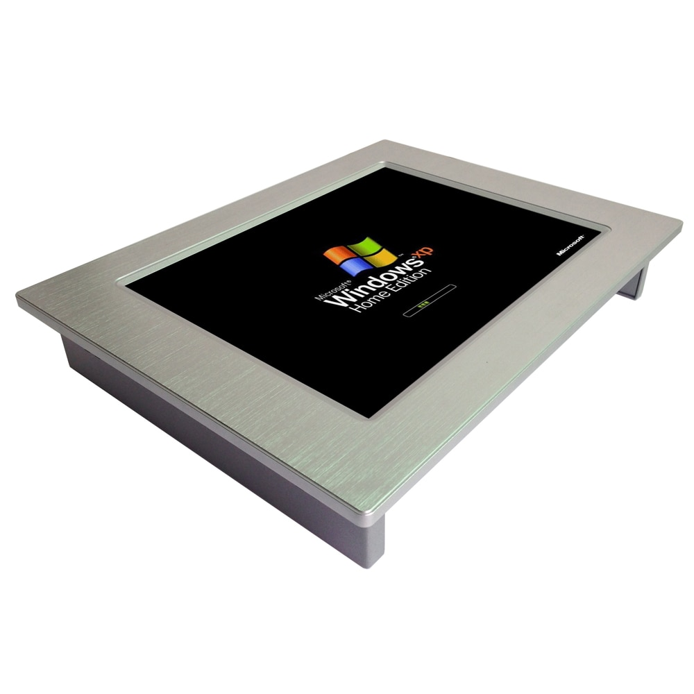 10.4 inch Wall mounted Industrial Touch Screen Panel Pc with j1900 Built in 4Gb ram 64Gb SSD All In One pc enlarge