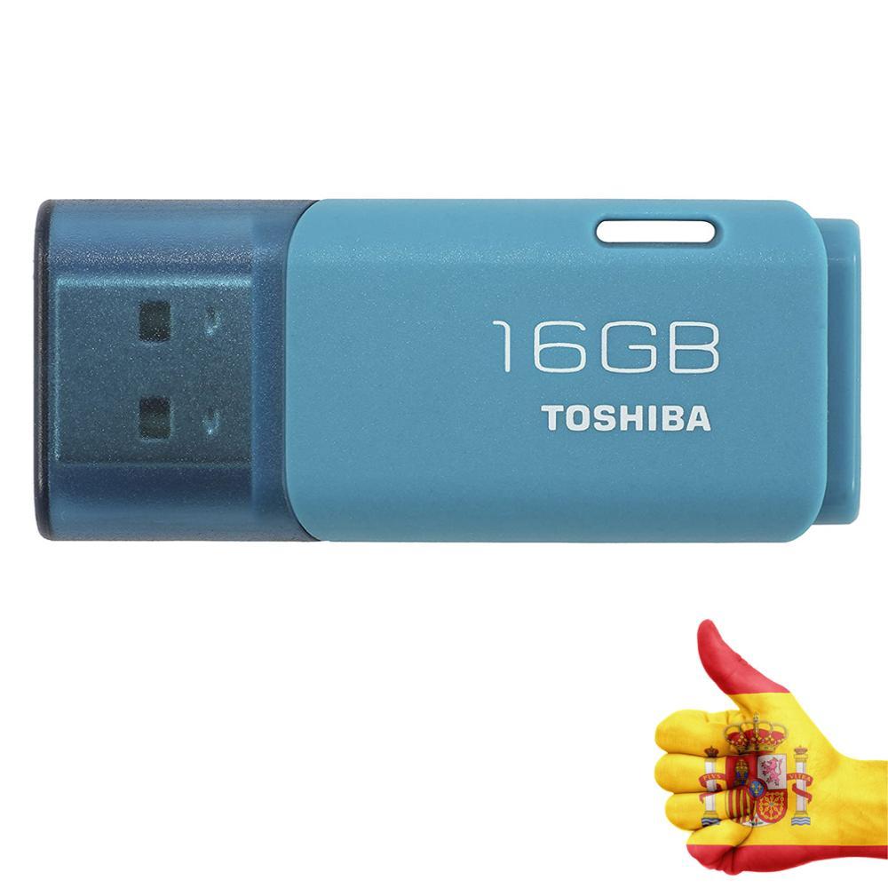 Toshiba THN-U202L0160E4 unidad flash USB 16 GB USB tipo A 2.0 Azul