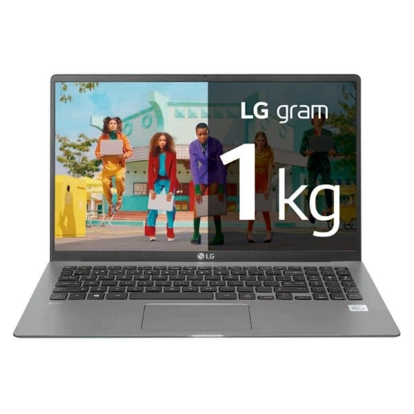 "מחברת LG 15Z90N 15,6 ""i7-1065G7 16 GB RAM 512 GB SSD גריי"