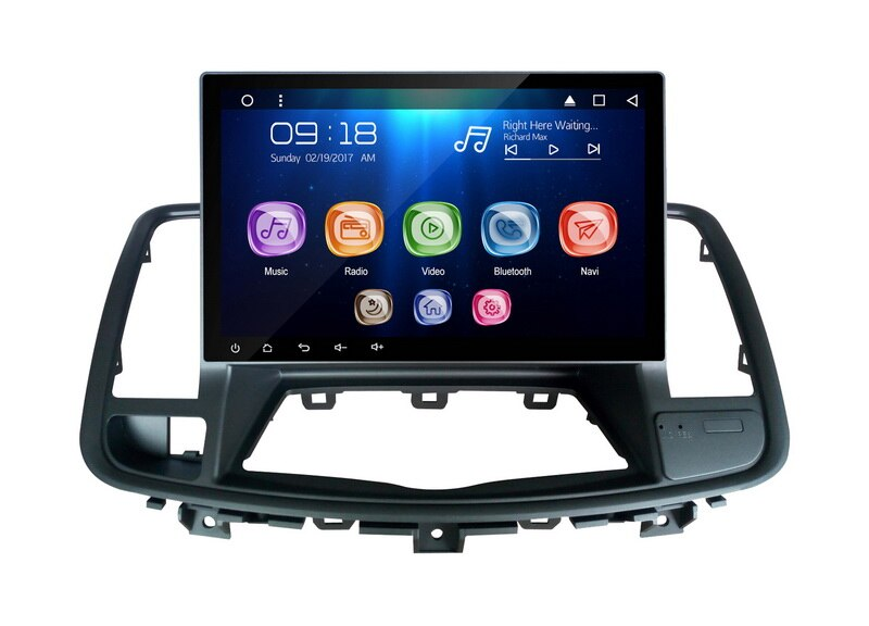 "Allways 10.1 ""tela ips android 9.0 octa-core ram 2 gb rom 32 gb multimídia de carro para nissan teana (lhd) 2008 com toque completo"