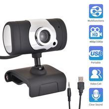HD Webcam 1080p/480p Computer Laptops USB Kamera Plug & Play Video Aufnahme Webcam Mit Mikrofon Für PC computer Laptops Webcam