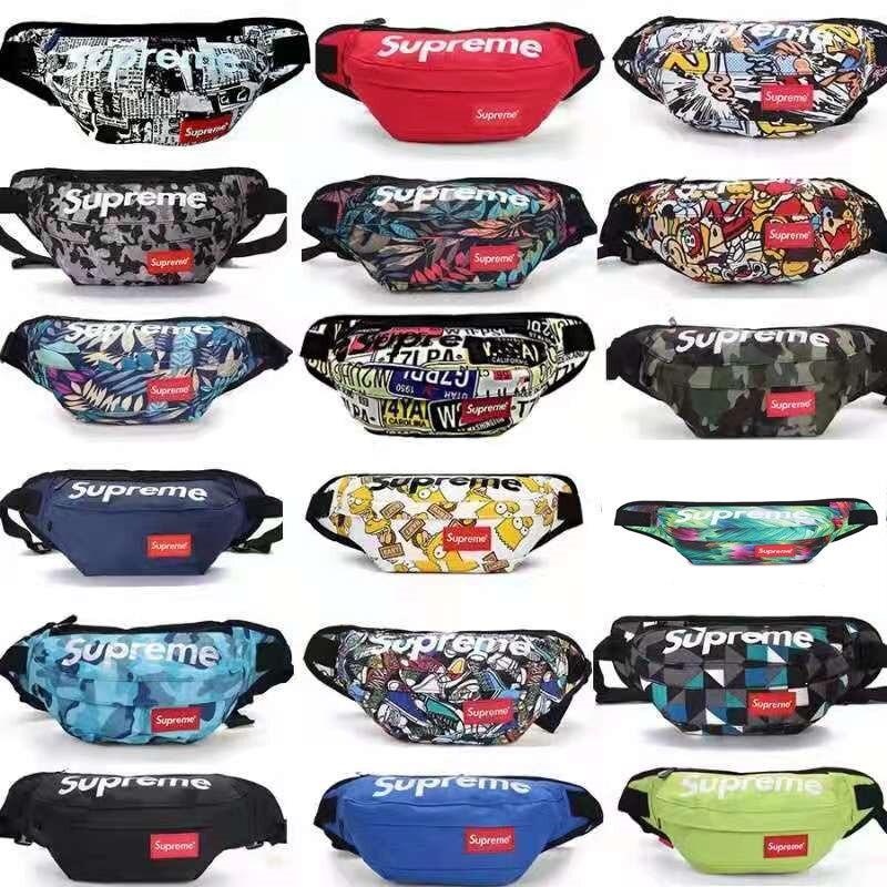 2021 Supreme Bags For Women Men Trendy Fashion Luxury Brand Chest Bag Cool Waterproof Hip Hop Handba
