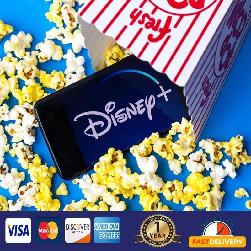 {Compte Disney plus✅12 mois de fonctionnement sur PC,✅IOS, Android,✅Smart TV✅Décodeur, tablette✅Hiverr}