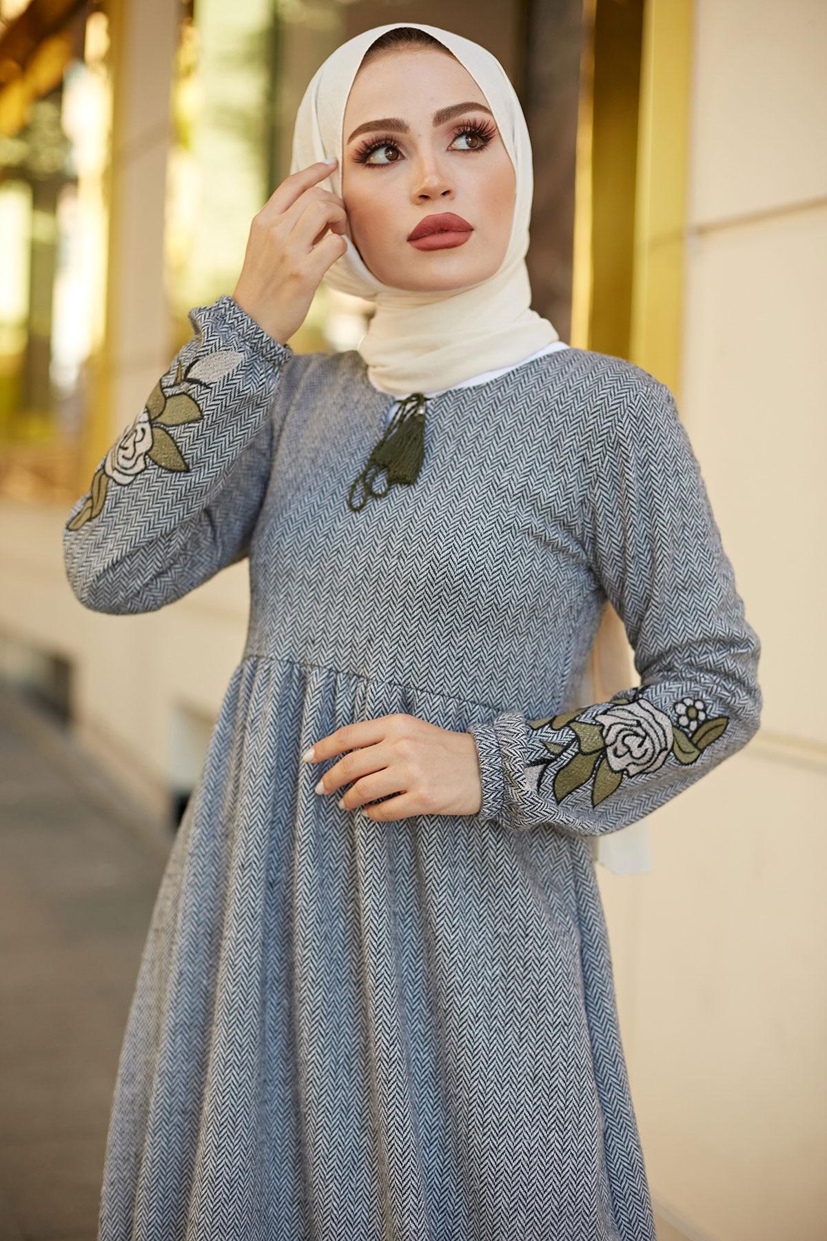 فستان طويل نسائي شتوي عباية امرأة ستر خريف عربي ماروس فساتين تركية دبي فساتين موضة شحن سريع