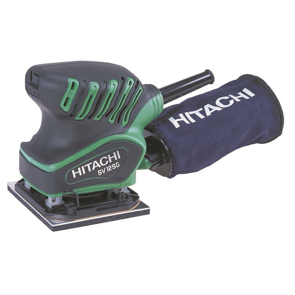 Máquina lijadora vibratoria profesional Hitachi SV12SG 200 vatios 1/4 capas accesorio cortador cinta lijadora rueda circular