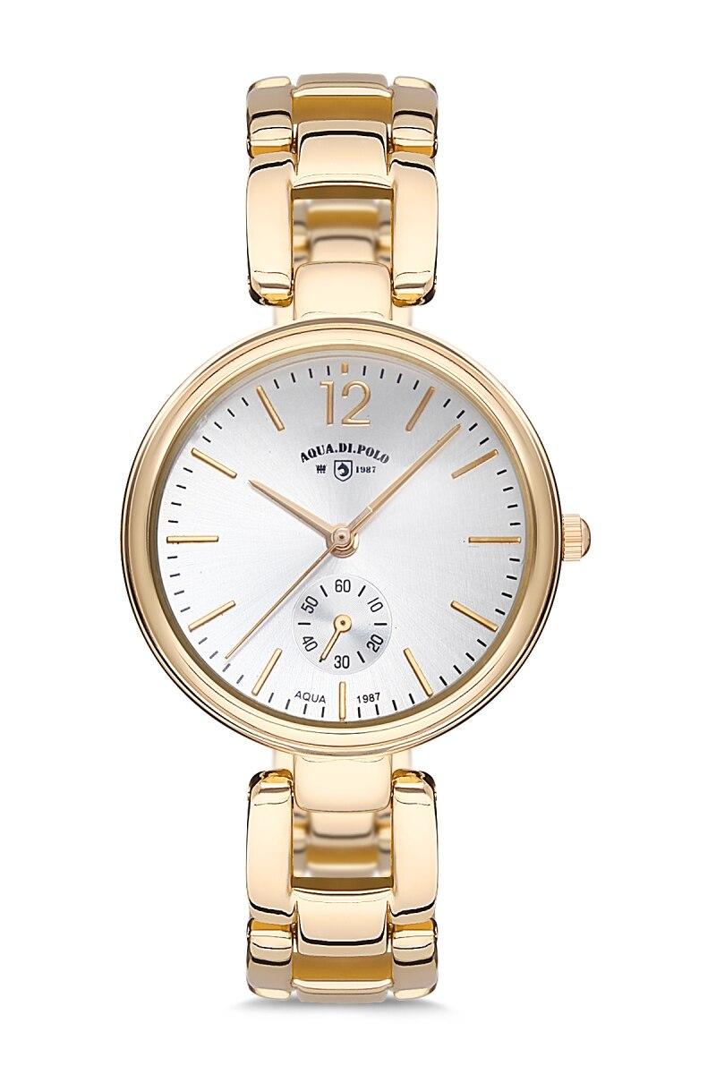 Aqua Di Polo APSV1-A6380-KM454 reloj de pulsera de Metal para mujer