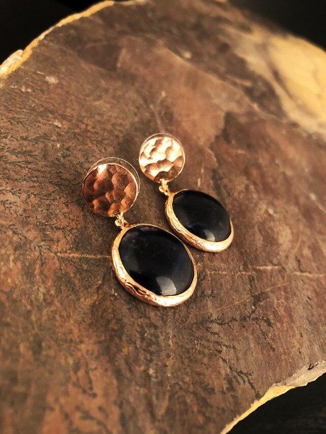 Dr Stone-حجر طبيعي مطلي بالذهب الوردي للنساء ، اللازورد ، صناعة يدوية ، 439800268