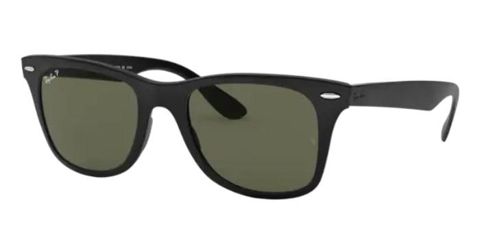 Rayban WAYFARER LİTEFORCE 4195 601S9A 52  Sunglasses Black Frame G-15 Green Lenses High Quality Vis
