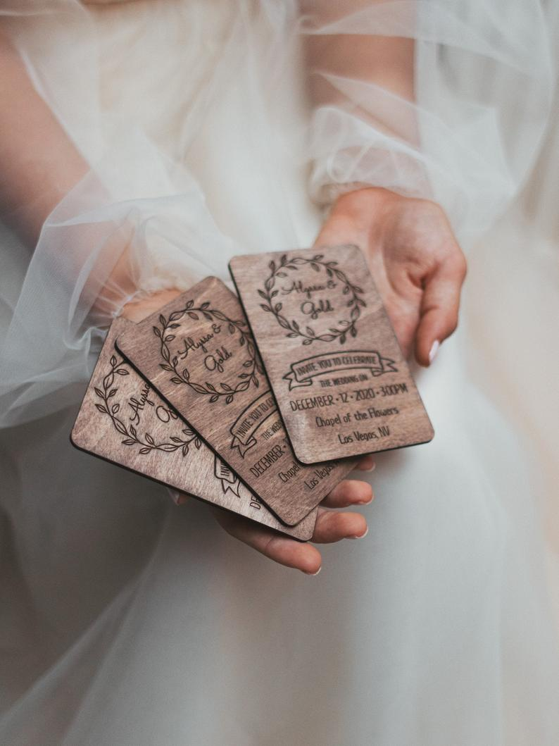 Rustic Wedding Invitation from WeddingByEli   Laser Cut Wedding Invitation   Wedding Invitation Suite   Wedding Invitation Set t v hache the invitation