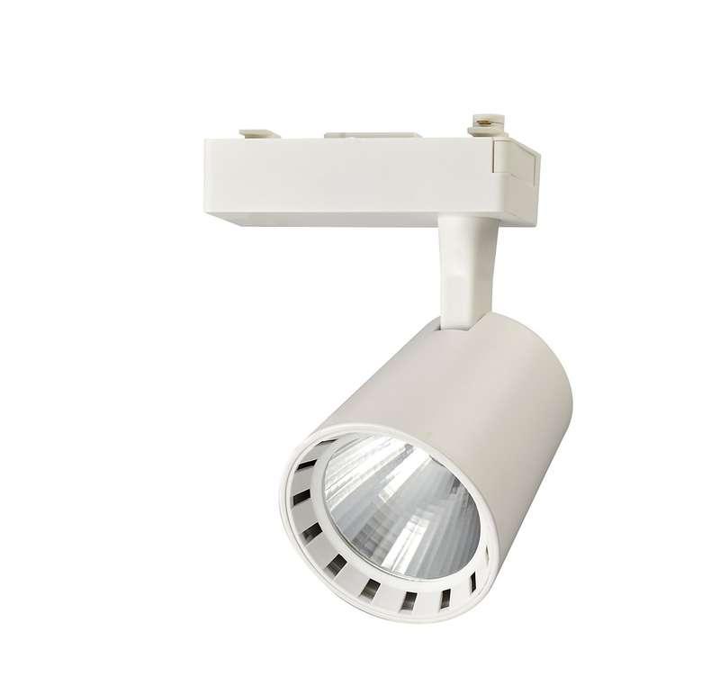 Éclairage sur rail PTR 0330 30w 4000 K 24 deg. WH Bel. IP20 jazzway 4895205010598