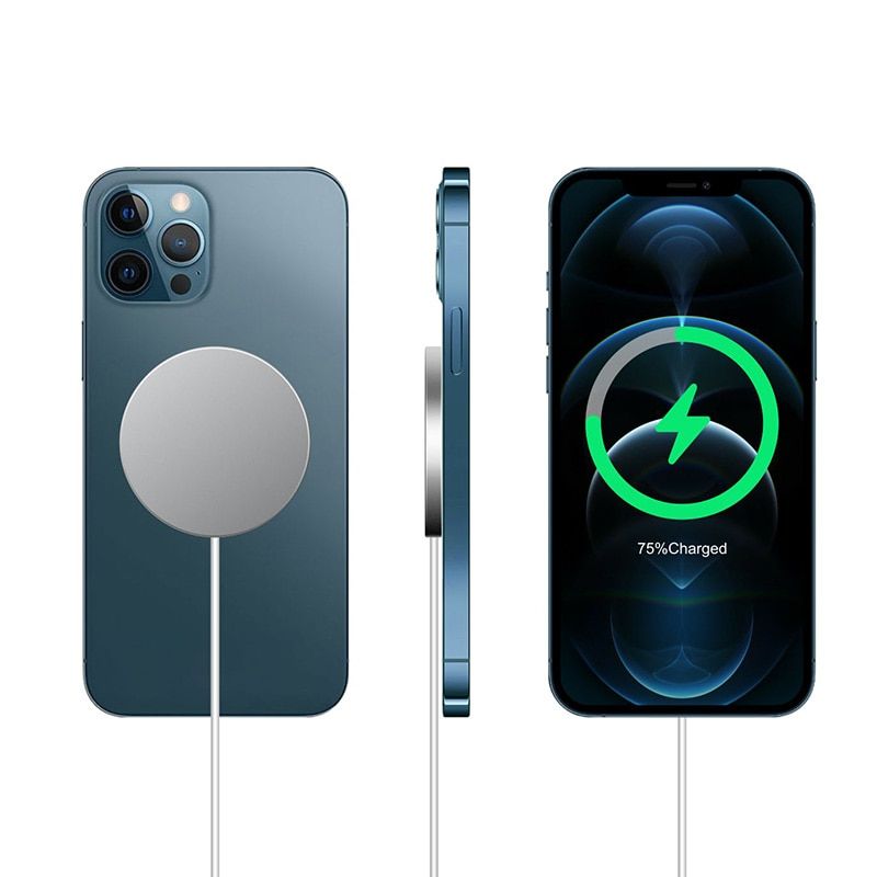 Newest 15W Fast Magnetic Wireless Charger Stand QI Charging For iPhone 12 Pro 12 Mini 12 Pro Max Fas