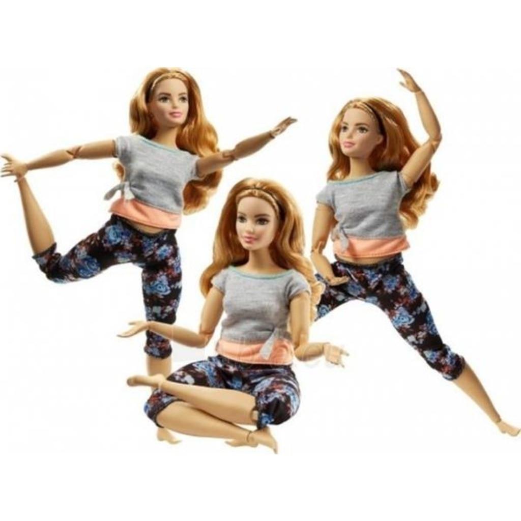 Dolls-Ftg80-Ftg84 de movimiento infinito de Barbie