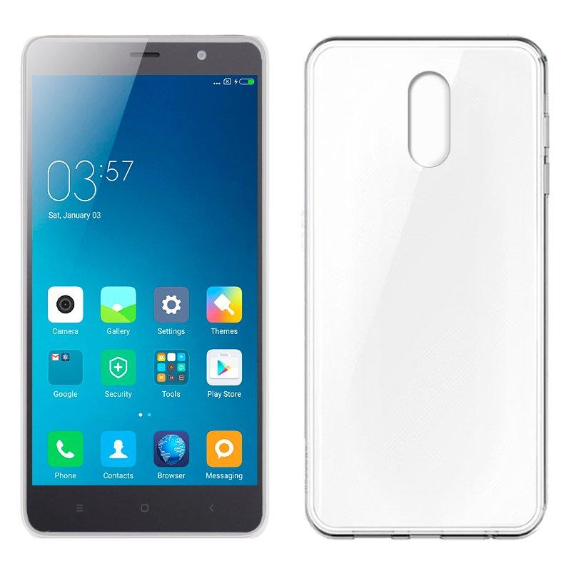Funda movil Silicona Xiaomi Redmi Note 3 / Note 3 Pro (Transparente, suave, antigolpes, resistente suciedad )