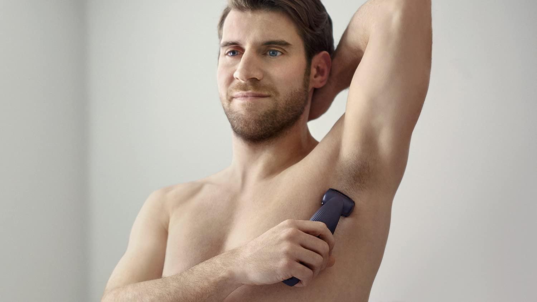 Philips BG3015 Series 3000 Body Hair Trimmer Showerproof Body Groomer with Skin Comfort System enlarge
