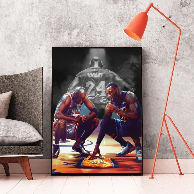 Michael Jordan Kobe Bryant Lebron James Hohe Qualität Nba Poster Nba Sterne Legende Wohnkultur Wohnzimmer Jungen Zimmer Wand kunst S