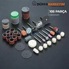 105 Pcs Grinding Set Dramel Drill Equipment Stone  Abrasive Burr Wheel For Rotating Polishing