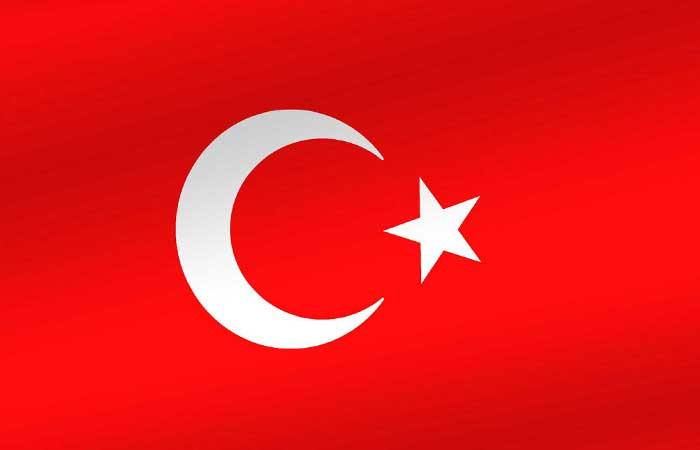 Турецкий флаг, высококачественная ткань, Сделано в Турции