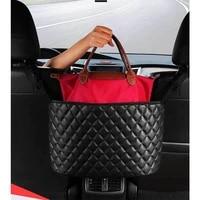 car organizer car seat gap storage mesh pocket auto back storage bag organizer in the car accessories