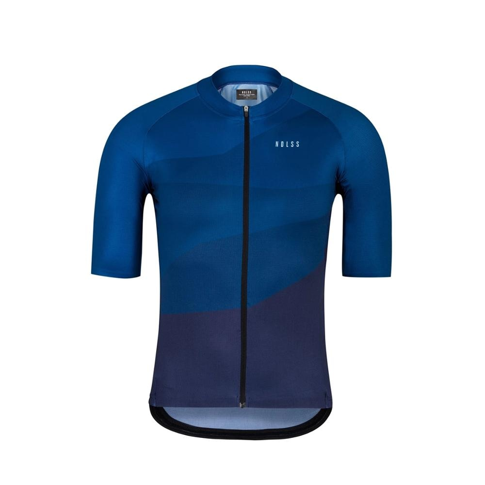 2020 España nuevo aero ciclismo jersey de manga corta de alta calidad Micromesh material transpirable flatlock costura hombres camino mtb navy