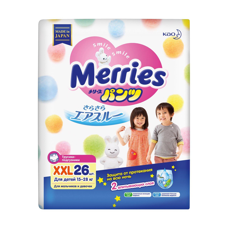 Pañales bragas Merries XXL 15-28kg 26w