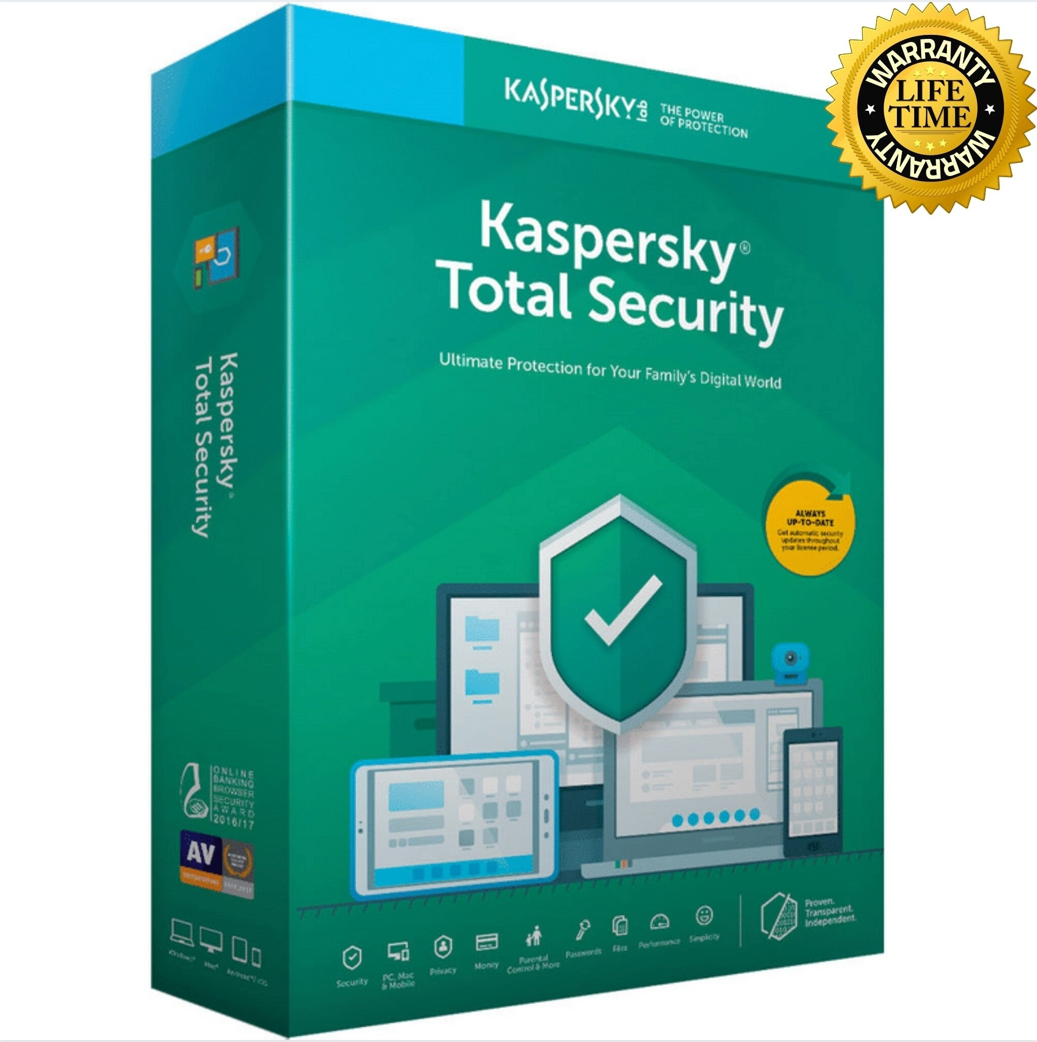 kaspersky TotalSecurity 2021For✅Windows✅- 2 Years Activation