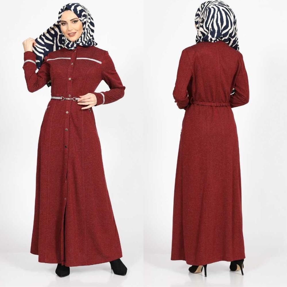 Расширенный аксессуар, лента, зимнее мусульманское платье Feraye, абайя, женские модные тенденции, Аравия Рамадан в Дубае, 100%, сделано в Tur плать...