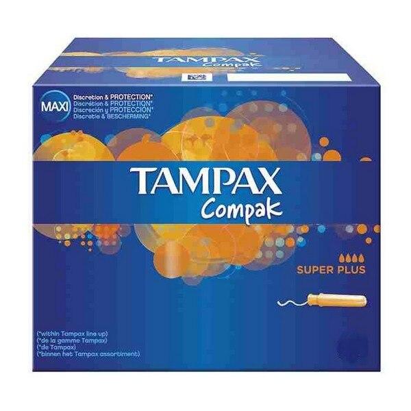 Super Plus tampón Compak Tampax (uds)