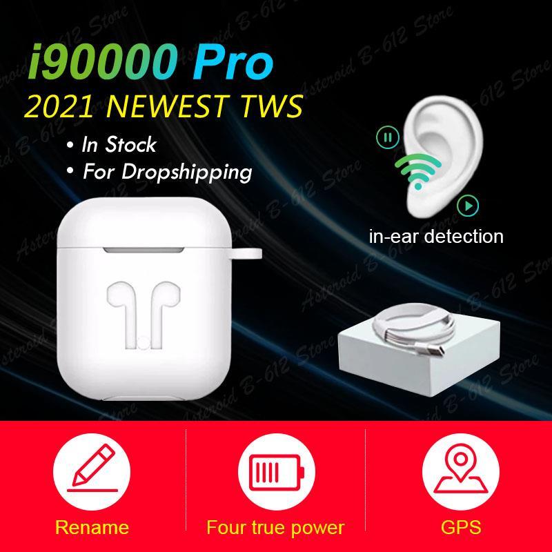 Oryginalny i90000 Pro TWS bezprzewodowy Bluetooth 5.0 słuchawki bezprzewodowe słuchawki douszne 9D 11 PK i99999 i90000 Pro i99000 Plus i9000 Pro TWS