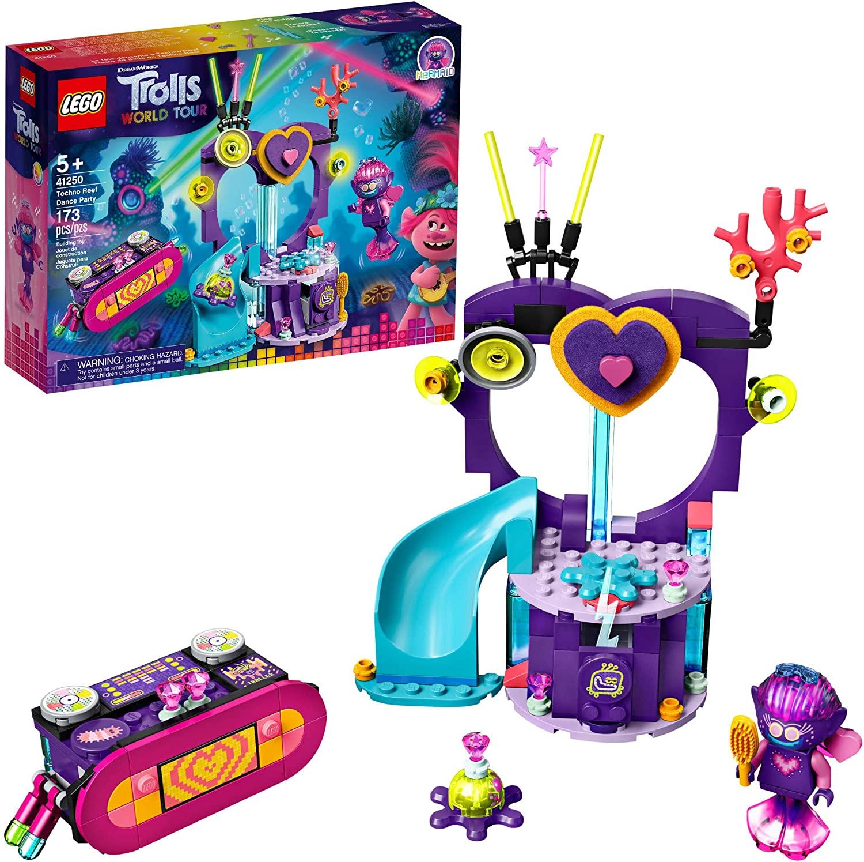 LEGO Trolls World Tour Techno Reef 41250, juego de construcción impresionante para...