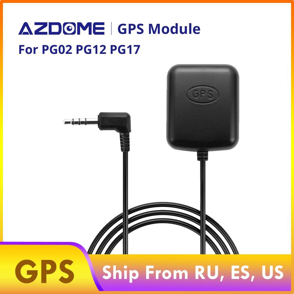 Módulo GPS AZDOME para cámara de salpicadero espejo PG01 PG02 PG12 PG17 Cámara DVR para coche cámara de salpicadero