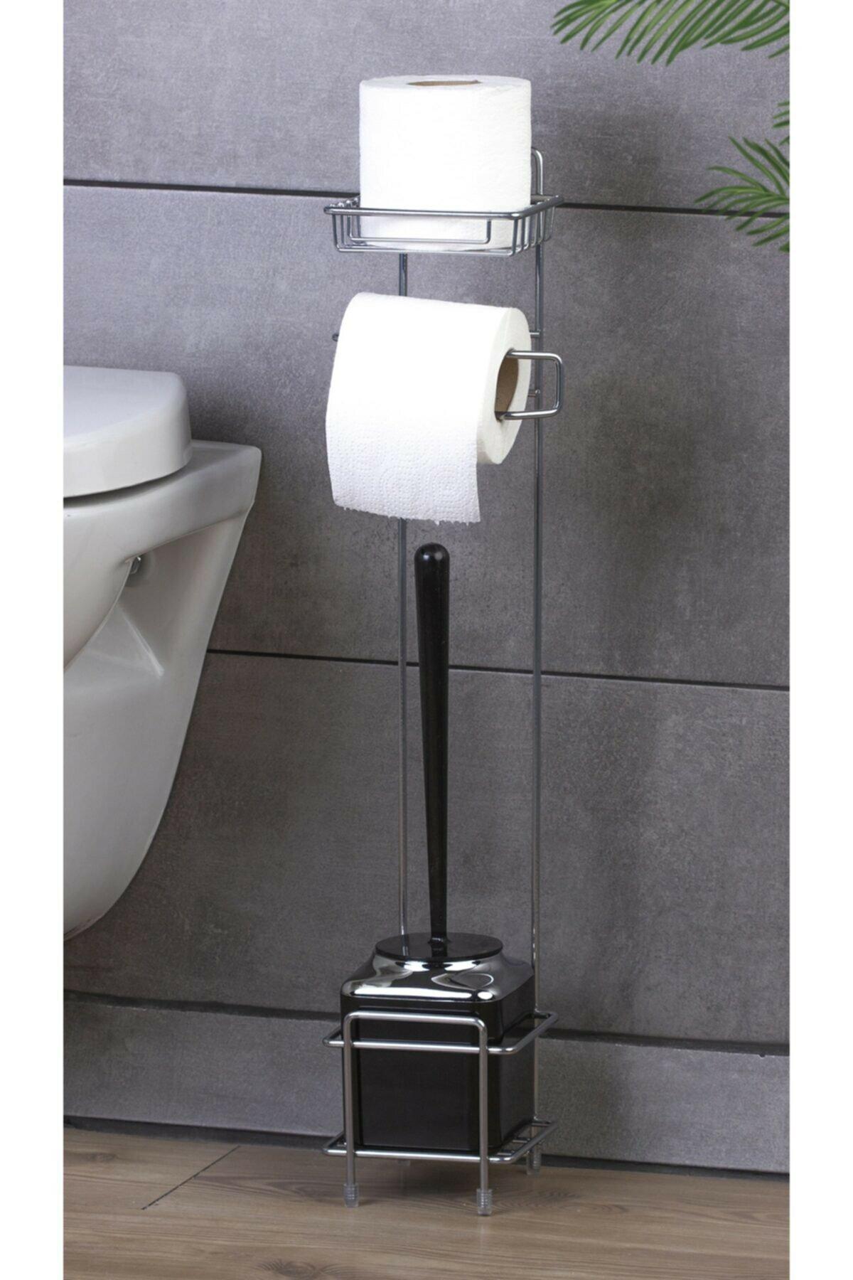 حامل ورق المرحاض الفولاذ المقاوم للصدأ الأنسجة حامل الهاتف المحمول الحمام لفة ورق اكسسوارات الحمام baño banheiro salle دي