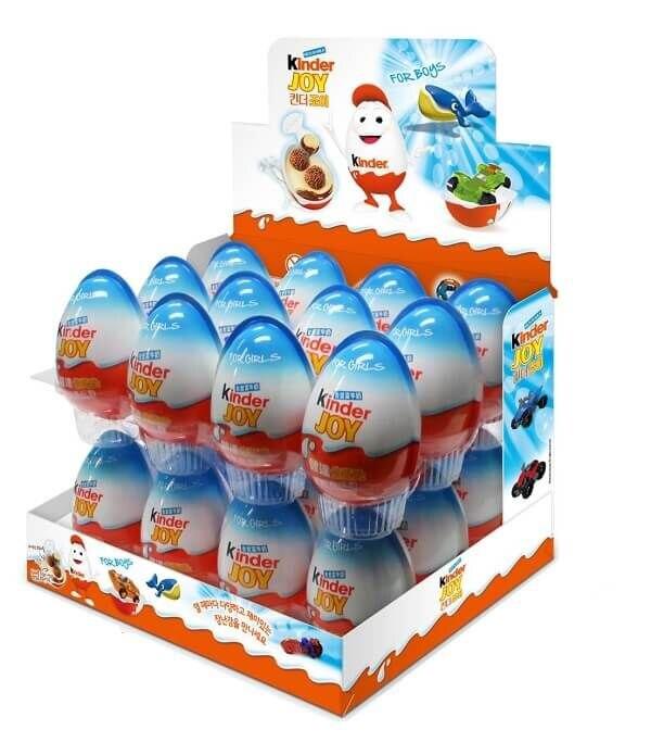 Kinder Joy Supriz яйца для мужчин, 24 штуки, бесплатная доставка