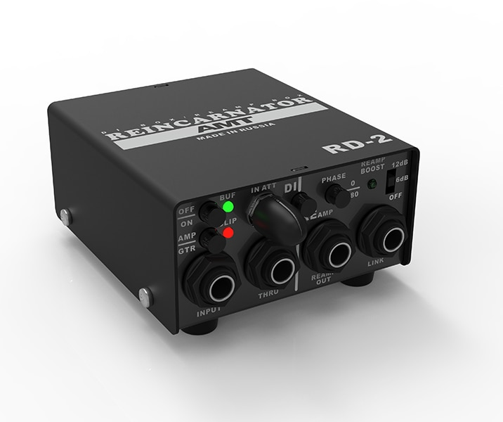 RD-2 reincarnator pasivo/Activo di-box y reamp-box, AMT Electronics
