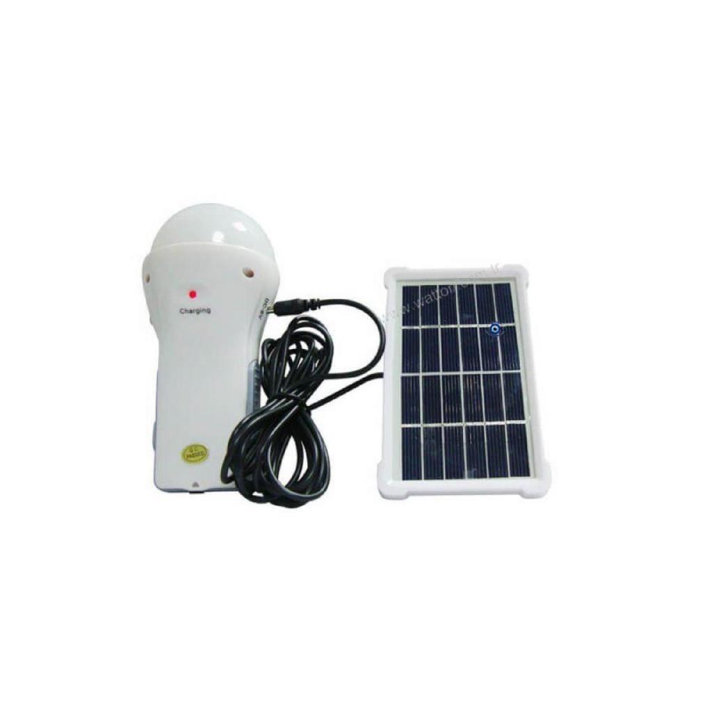 Watton WT200 Solar Panelli Solarlı Rechargable Hand and Camping Lamp