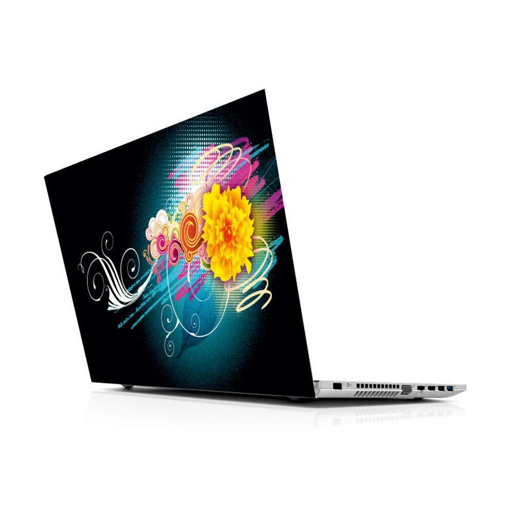"""Pegatina universal para ordenador portátil de Color Floral para MacBook 13 14 15 15,6 16 17 19 """"inc., asus, HP"""