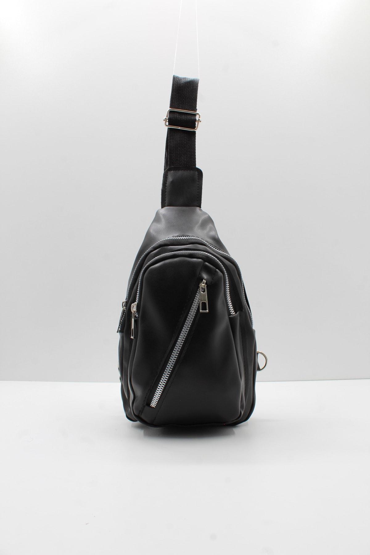 Women's Soft Leather Cross And Waist Bag With Three Compartments сумка женская сумка через плечо bags for women Наплечные сумки