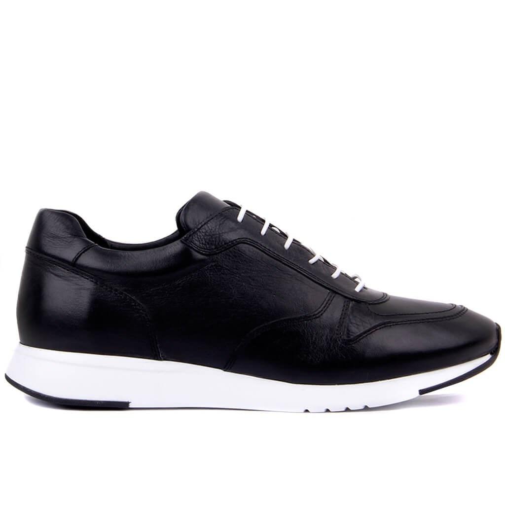 Sail-Lakers-أحذية رياضية من الجلد الطبيعي للرجال ، أحذية رياضية غير رسمية مريحة للتنفس ، أحذية رياضية للمشي