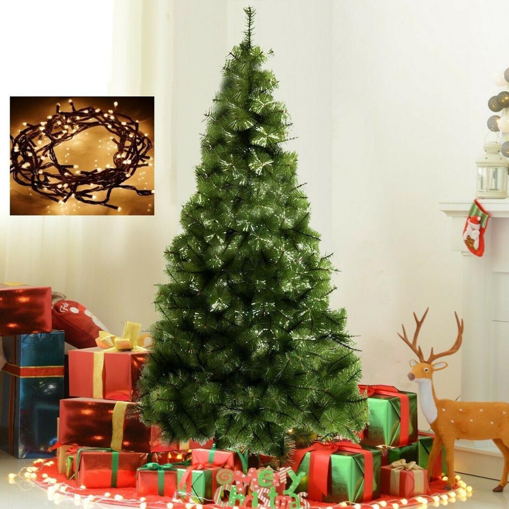 Árbol de Navidad de 1,80 M / 180 Cm Pino Verde +...