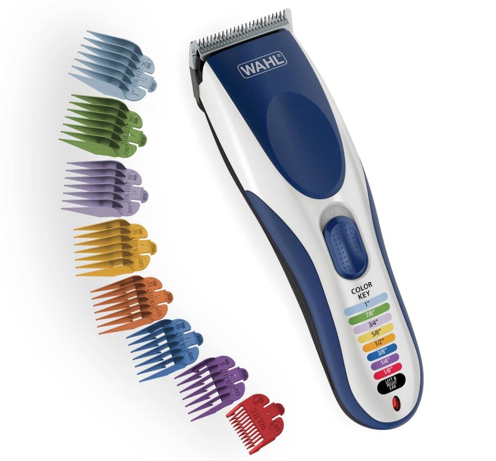 WAHL modelo 9649 Color Pro-sin máquina de cortar el cabello de inalámbrico cabello 21 pieza set de corte de cabello máquina de afeitar