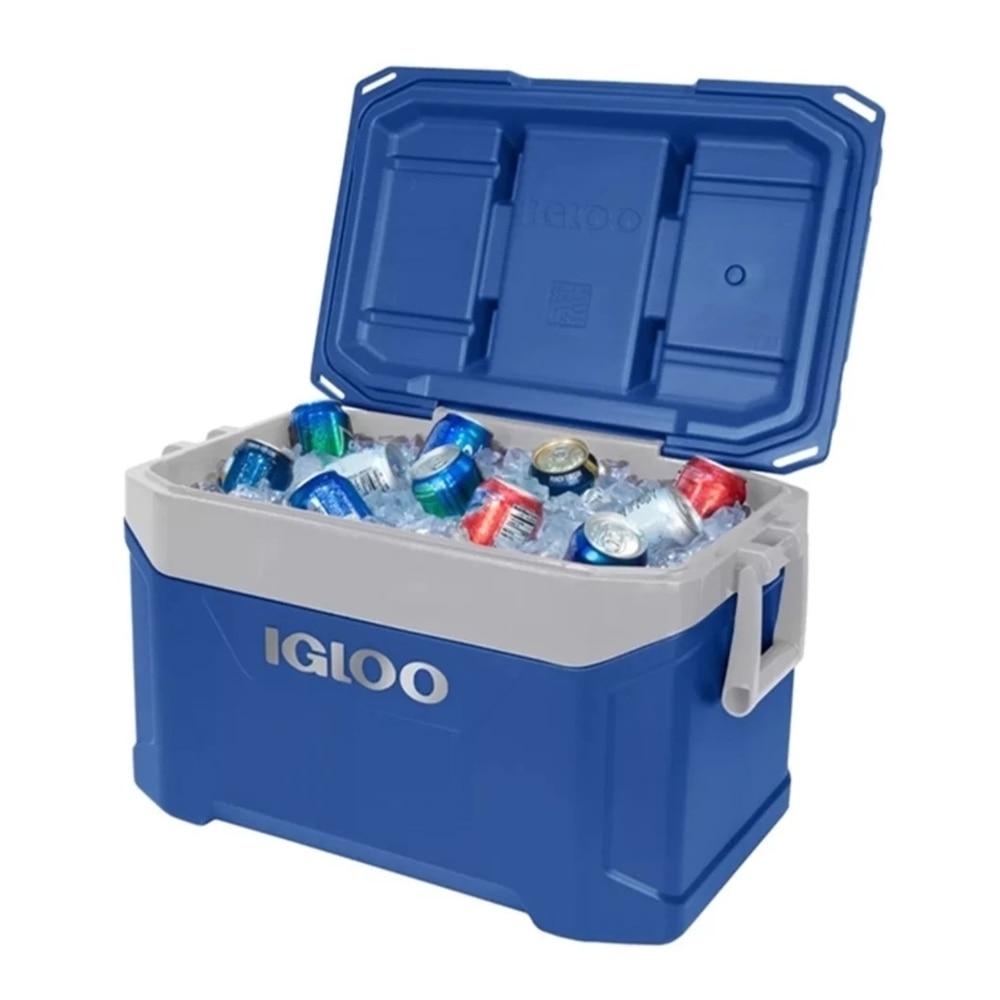 IGLOO ice Cooler Box Portable Outdoor Fridge Box 47 LITERS Yachting Fishing Hiking Picnic Camping transport basket bag