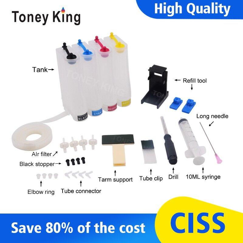 Toney King tinta continua Ciss para impresora Canon apta para PG445 CL446 PG 445 CL 446 PG-445 PG-440 PG440 PG 440 441 XL cartucho