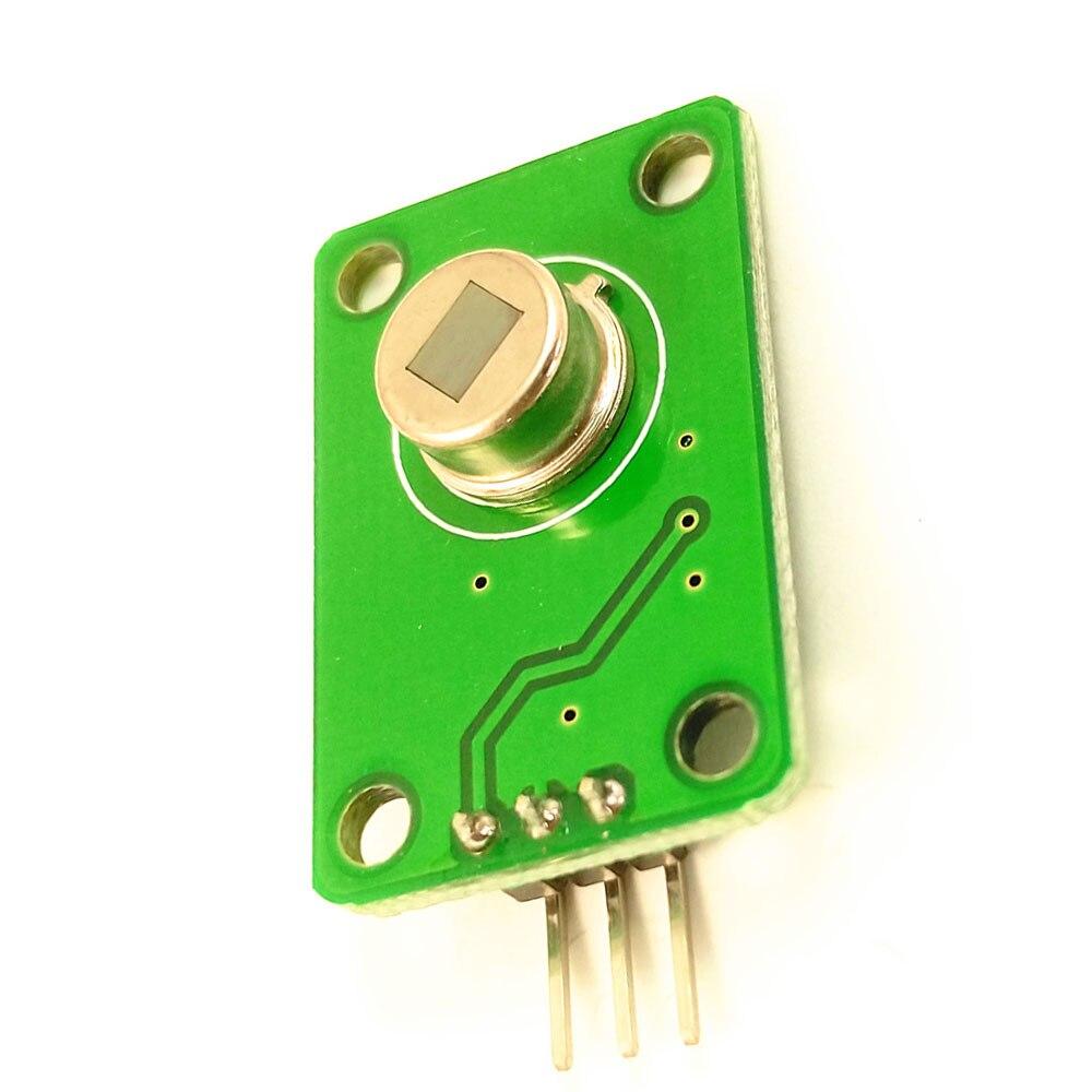 Taidacent D203S Sensor infrarrojo de cuerpo humano Módulo Sensor piroeléctrico sonda infrarroja sensor de movimiento interruptor 011050 lente negra