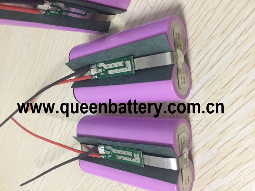 Alerte bluetooth 18650 35et 35et 35e MJ1 GA, 7000mAh 1S2P 3.7v, avec batterie PCB/PCM 3mos ( 5A)