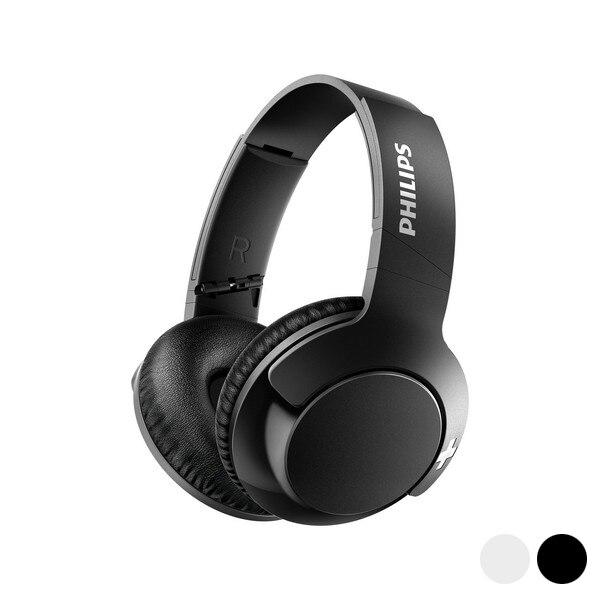 Auriculares plegables con Bluetooth, Philips SHB-3175/00, USB BASS + 40 mW