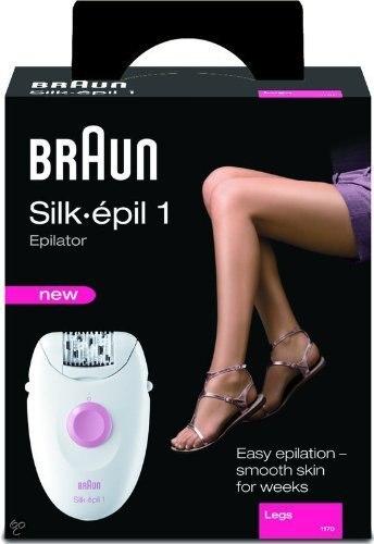 Braun Silk Epil 1 (1170) Epilator Leg Hair Removal System enlarge