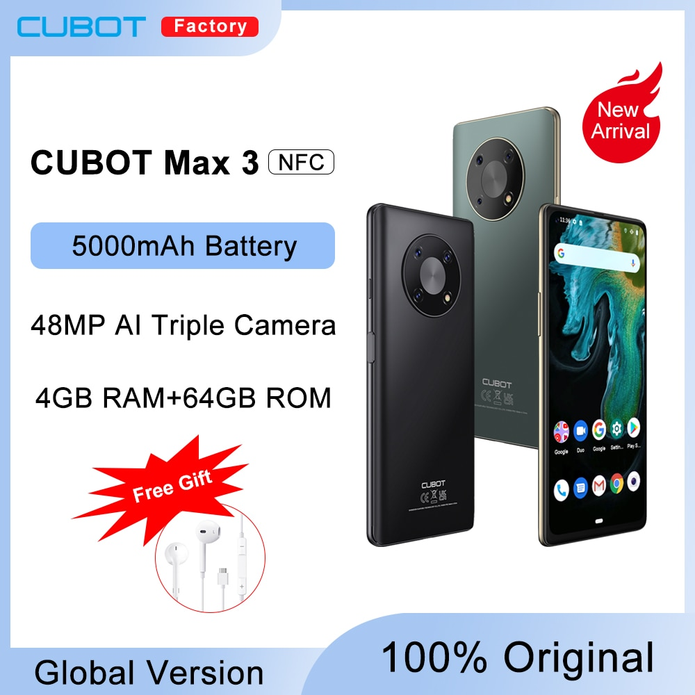 Cubot MAX 3 Smartphone 6.95