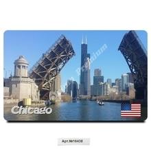 Chicago USA souvenir gift magnet for collection